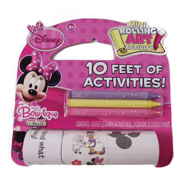 Minnie Mouse Toys 10 Rolling Art At Toystop