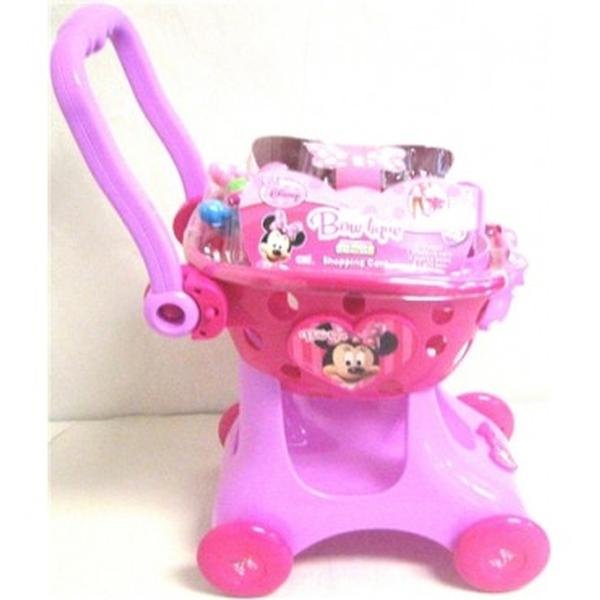 sc 1 st  ToyStop & Minnie Mouse Toys - Bow-tique Shopping Cart at ToyStop