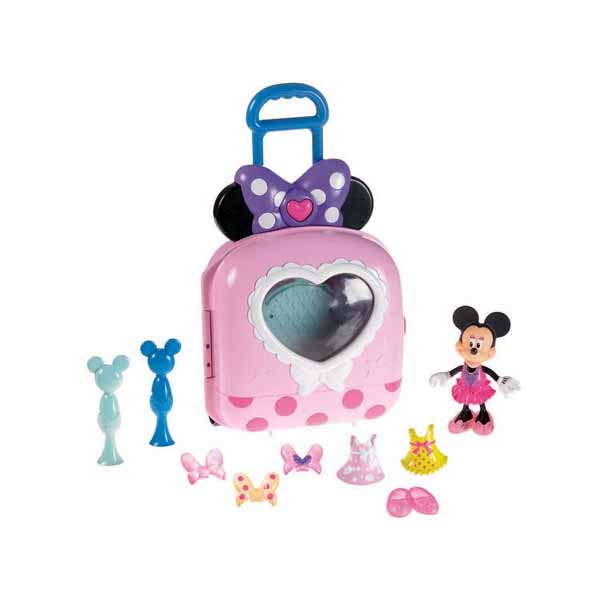 exceptional New Minnie Mouse Toys Part - 6: Minnie Mouse Toys - Fashion on the Go Bow-tique Playset at ToyStop