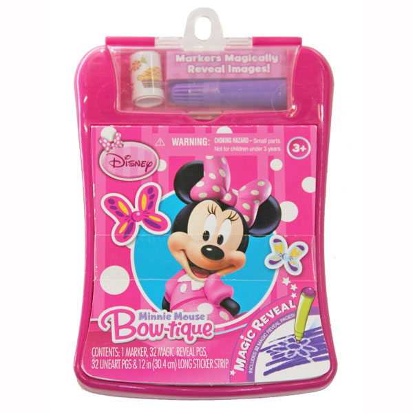 delightful New Minnie Mouse Toys Part - 8: Minnie Mouse Toys - Magic Reveal Activity Fun Pad at ToyStop