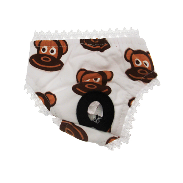 Monkey Daze Dog Panties