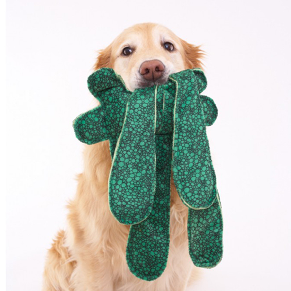 Monsterpulls Dog Toy by Doggles - Green