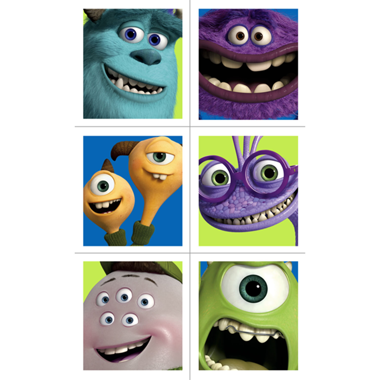 Monsters university party supplies monsters university stickers monsters university party supplies monsters university stickers at toystop voltagebd Images