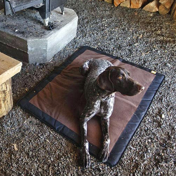 Mt. Bachelor Pad Dog Bed by RuffWear - Pinecone Brown