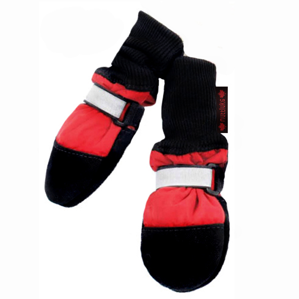 Muttluks Fleece Lined Boots - Red
