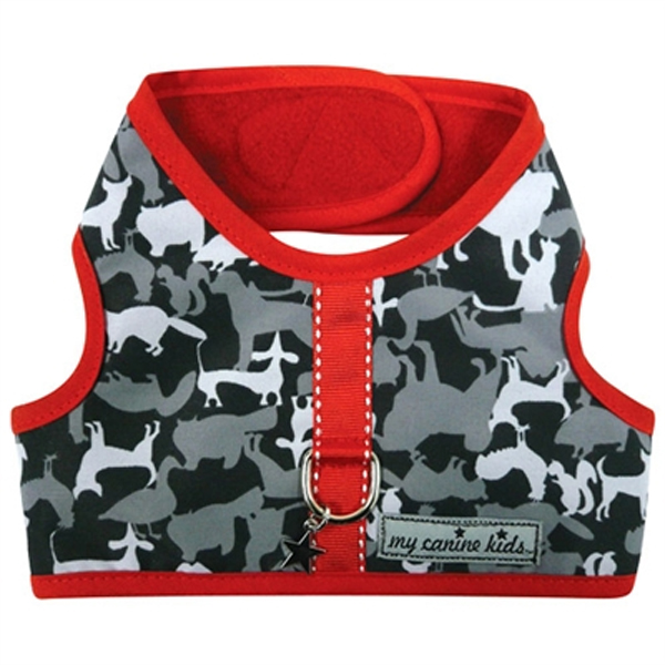 My Canine Kids Signature Print Dog Vest Harness