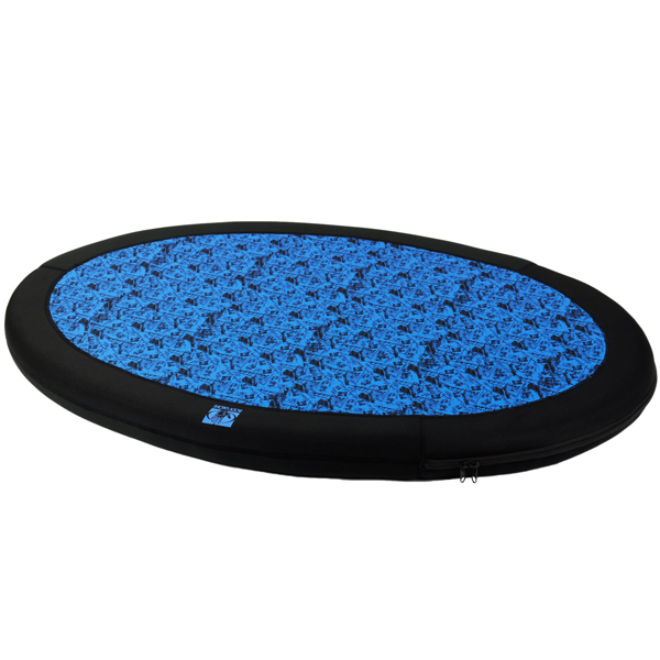 Body Glove Neoprene Dog Bed - Blue