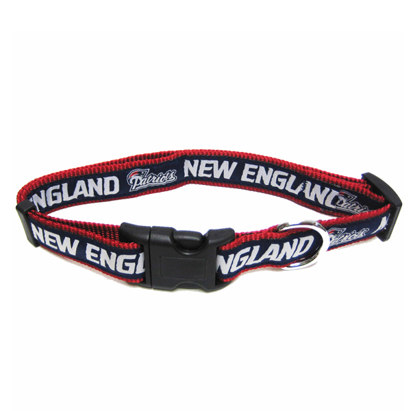New England Patriots Officially Licensed Dog Collar