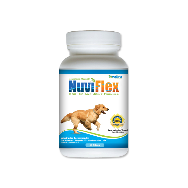 NuviFlex Maximum Strength Dog Hip and Joint Formula