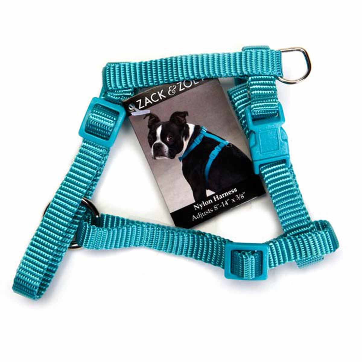Nylon Harness by Zack & Zoey - Bluebird