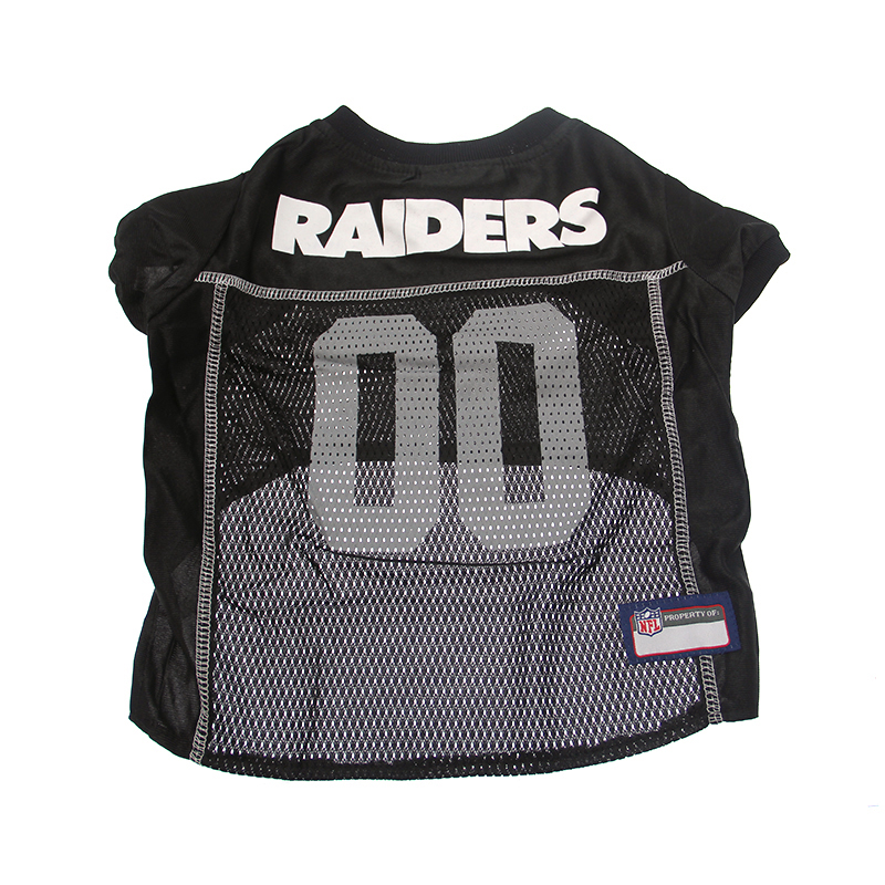Oakland Raiders Officially Licensed Dog Jersey