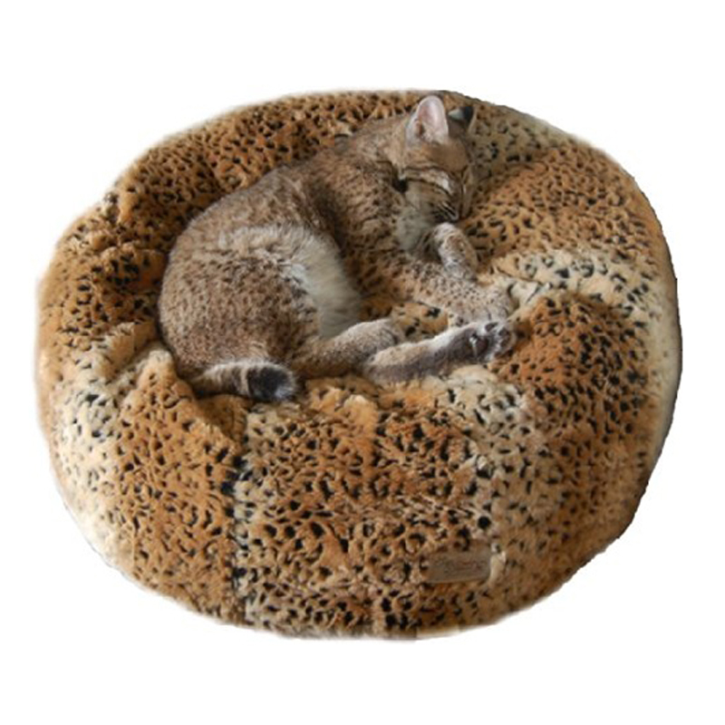 Ocelot Tiger Dreamz Beddy-Ball Dog Bed