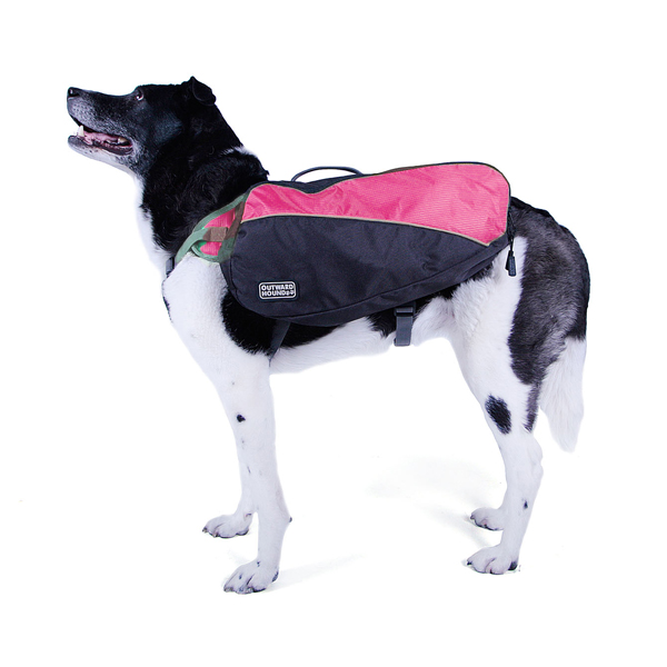 Outward Hound Dog Backpack - Pink | BaxterBoo