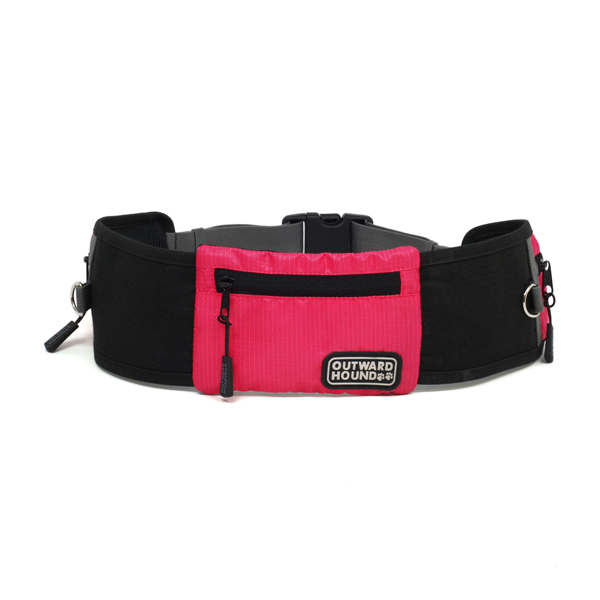 Outward Hound Hands Free Jogger Dog Leash - Pink