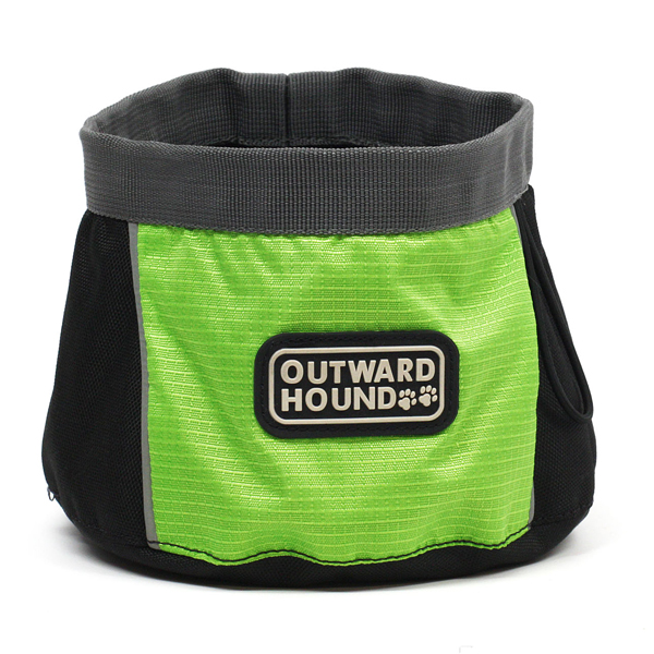 Outward Hound Port A Bowl - Green
