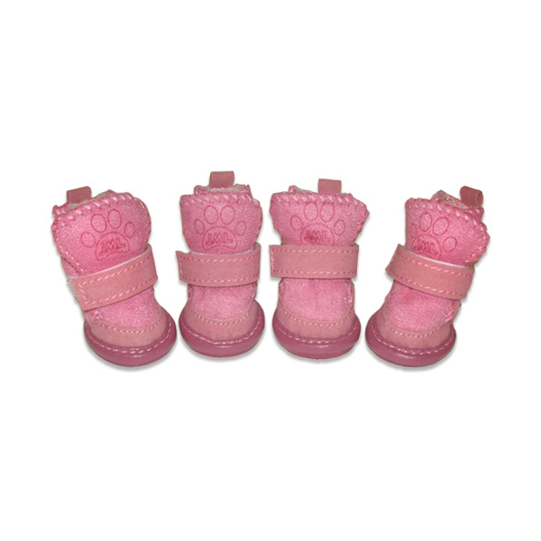 Pawgglys Dog Boots - Pink