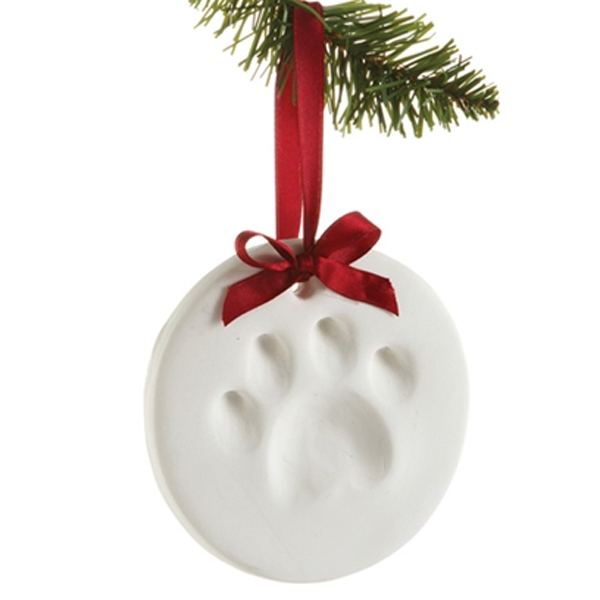 Pawprints Dog Ornament