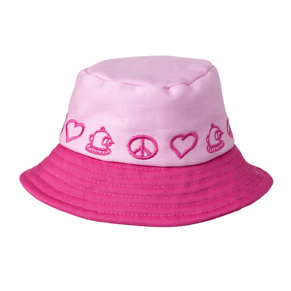 Peace Bucket Hat by Doggles - Pink