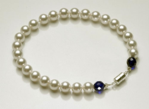 Pearl Pet Necklace Collar: The Madonna