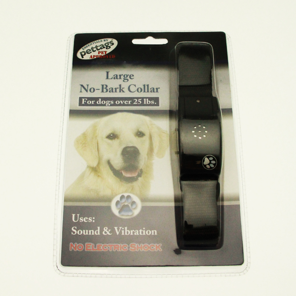 Pettags No-Bark Collar - Black