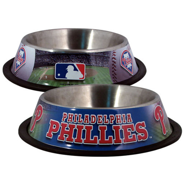 Philadelphia Phillies Dog Bowl