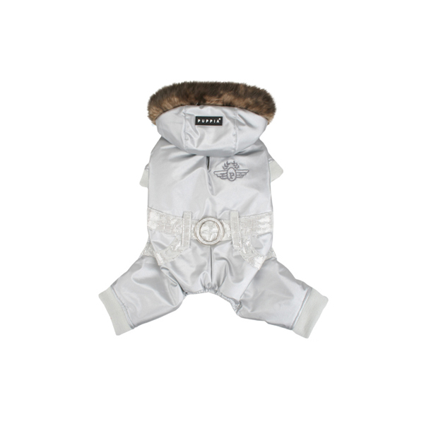 Pilot Winter Jumpsuit by Puppia - Silver