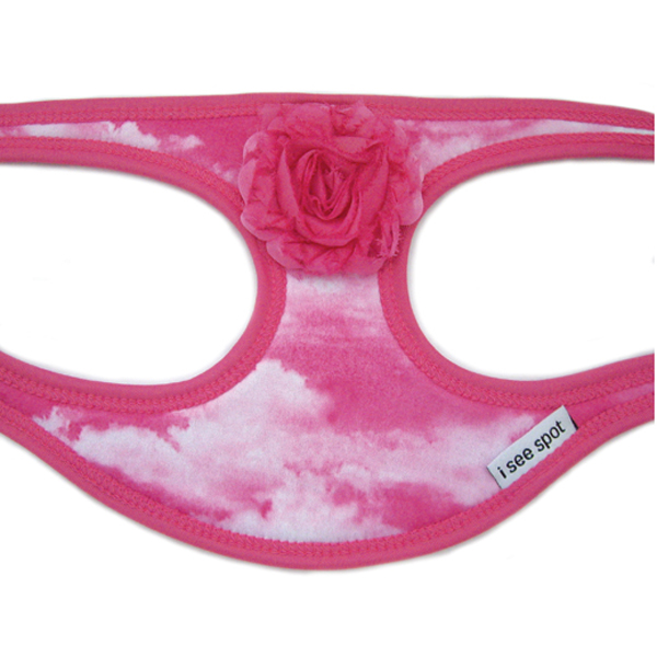 Pink Cloud Step-In Dog Harness