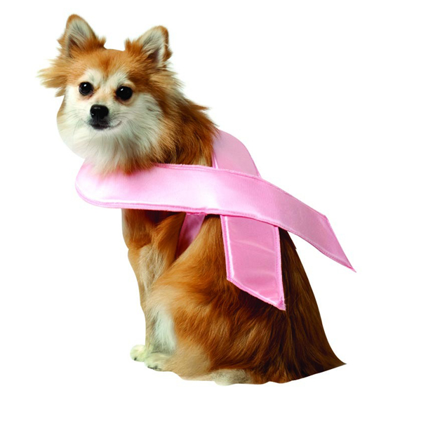 Pink Ribbon Dog Costume by Rasta Imposta