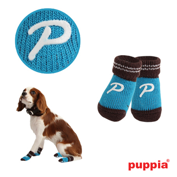 Pinocchio Dog Socks by Puppia - Blue
