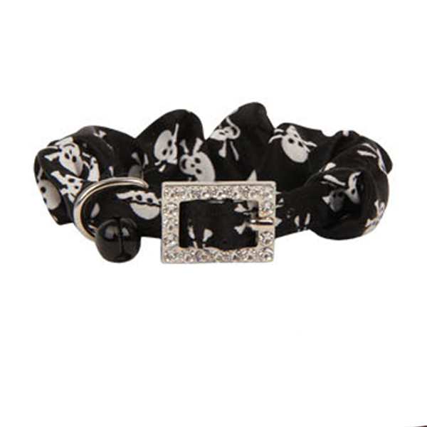 Pirates Cat Collar by Catspia - Black