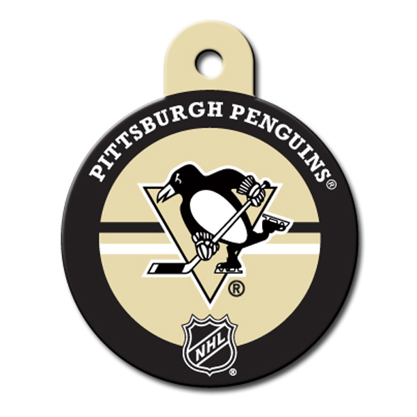 Pittsburgh Penguins Engravable Pet I.D. Tag