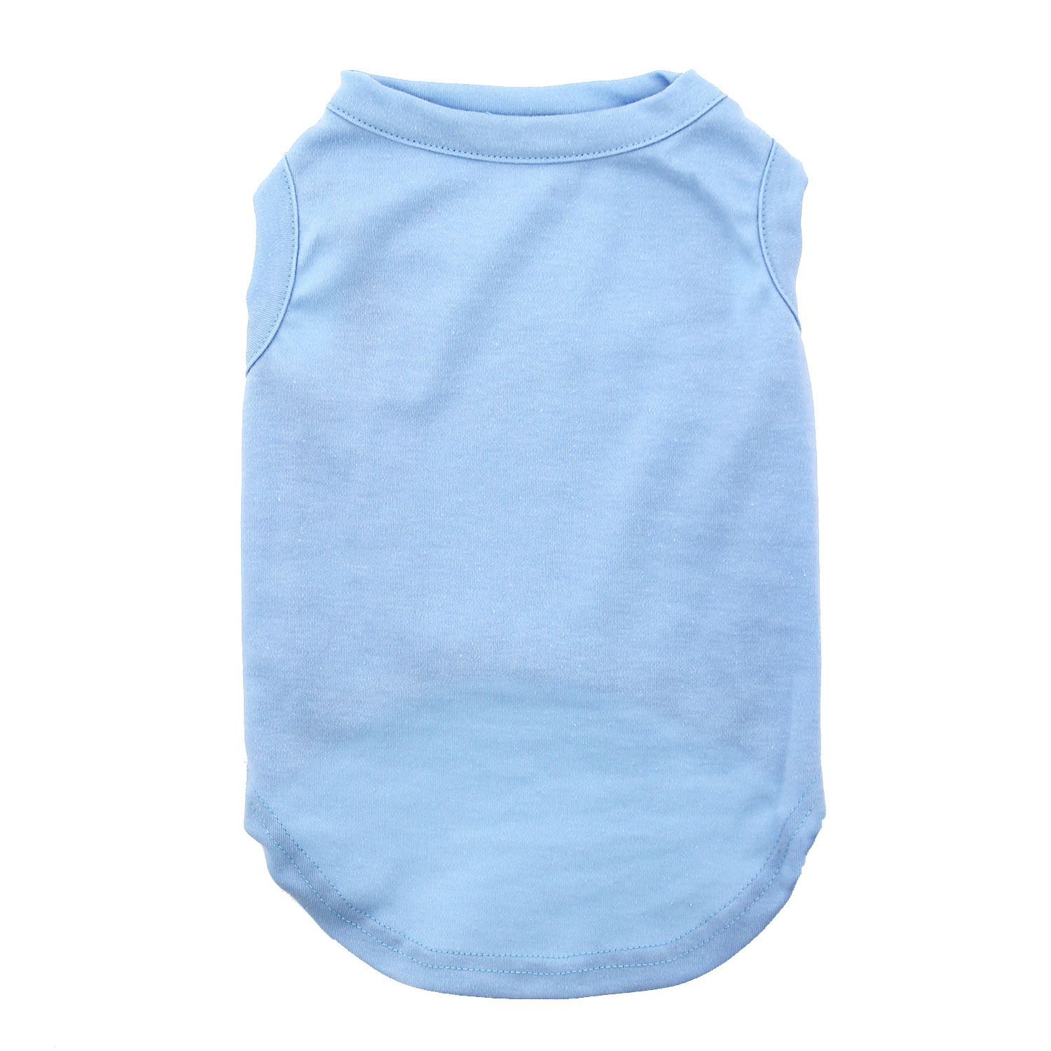 Plain Dog Shirt - Baby Blue