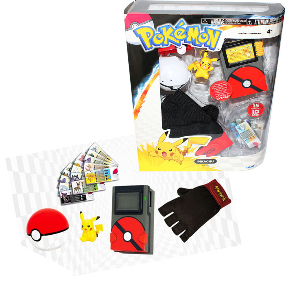 Toys For Trainers : Pokemon toys pokedex trainer kit at toystop
