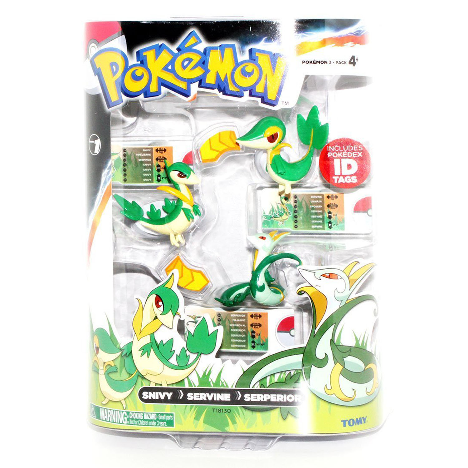My Little Pony Home Decor Pokemon Toys Snivy Servine Serperior 3 Pack At Toystop