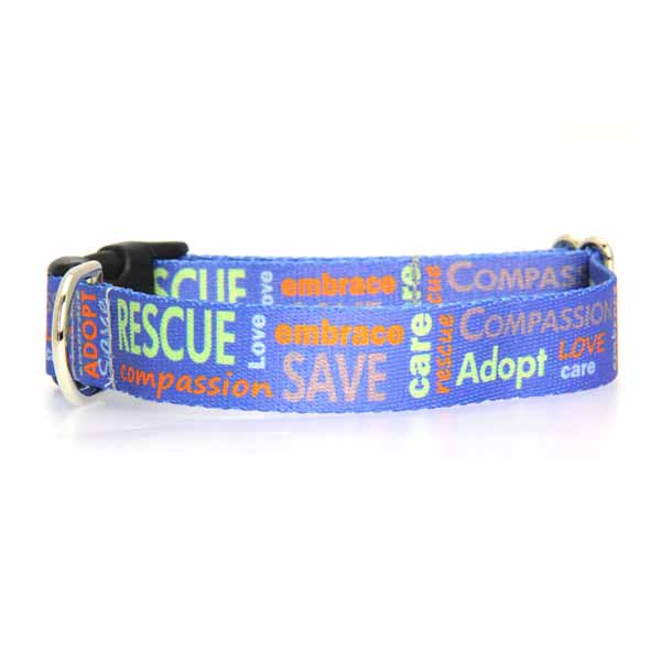 Poochie Bells Saving Spot Dog Collar - Rescue Me