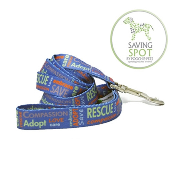 Poochie Bells Saving Spot Dog Leash - Rescue Me