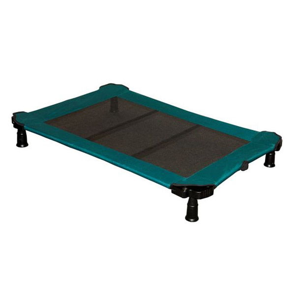 Portable Dog Cot - Moss Green