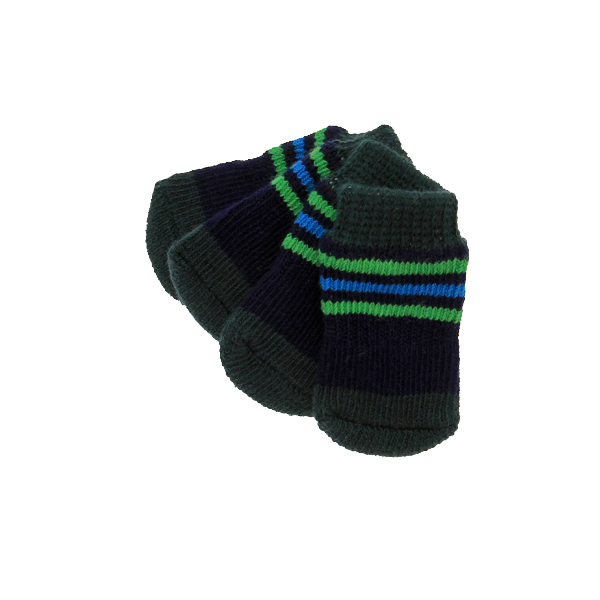 Preppy Stripes Soxy Paws Dog Socks
