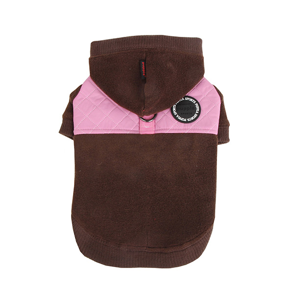 Puppia Mode Dog Hoodie - Brown