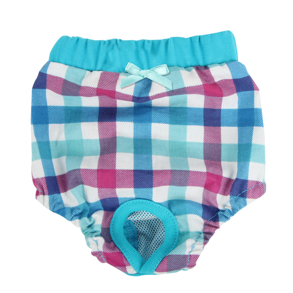 Purity Dog Sanitary Pants by Puppia - Aqua