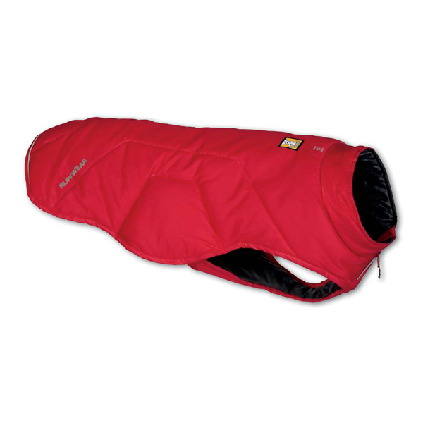 Quinzee Insulated Dog Jacket by RuffWear - Red Rock