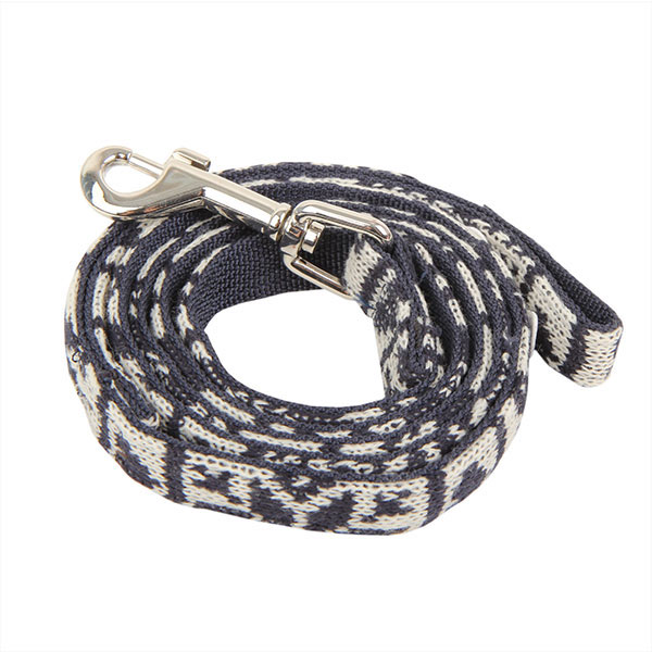 Reindeer Dog Leash by Pinkaholic - Navy