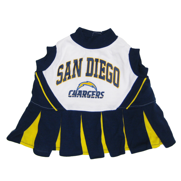 San Diego Chargers Dancers: San Diego Chargers Cheerleader Dog Dress With Same Day