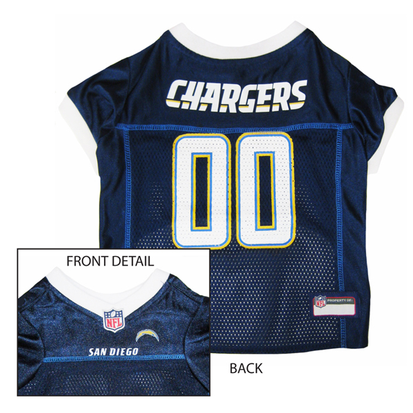 San Diego Chargers Officially Licensed Dog Jersey With