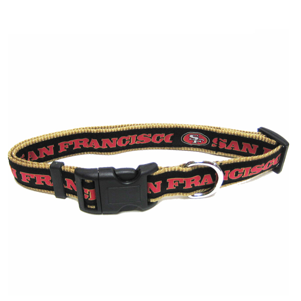 San Francisco 49ers Officially Licensed Dog Collar