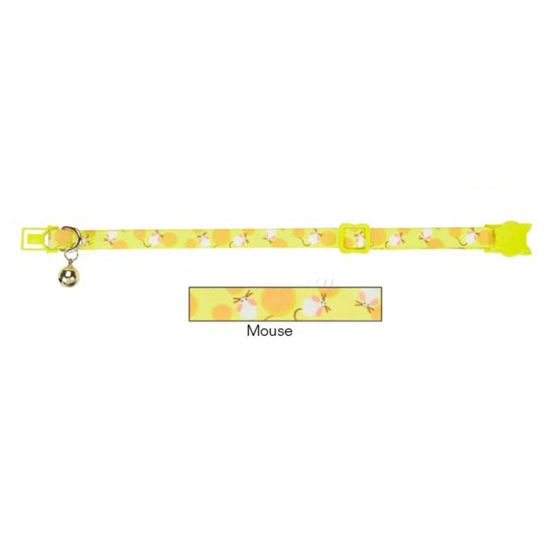 Savvy Tabby Mousin Around Cat Collar - Mouse
