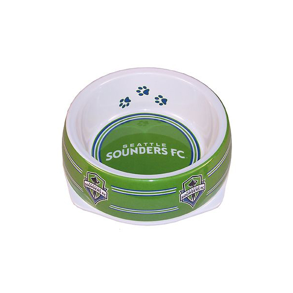Seattle Sounders Plastic Dog Bowl