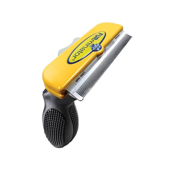 Short Hair FURminator for Large Dogs - Yellow