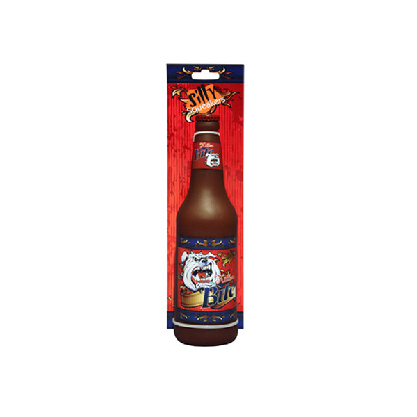 Silly Squeakers Dog Toys - Killer Bite Beer Bottle