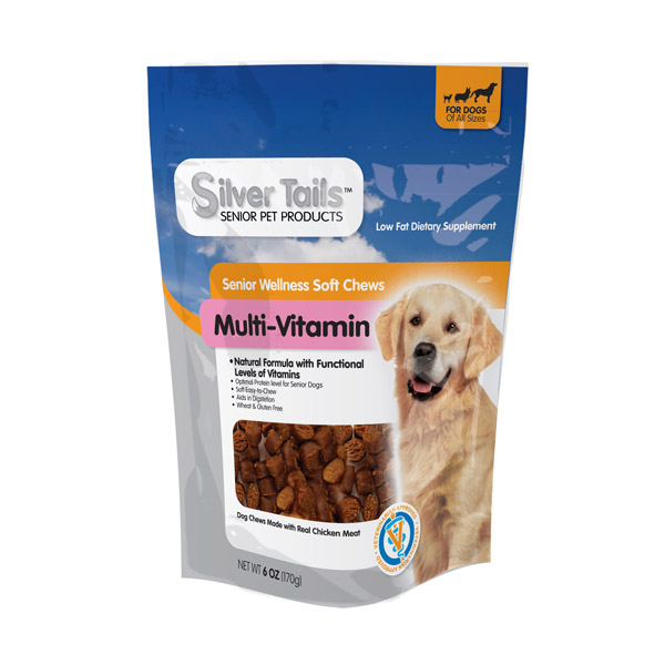 Silver Tails Multi-Vitamin Wellness Treats